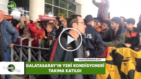 Galatasaray'ın yeni İtalyan kondisyoneri, takıma katıldı