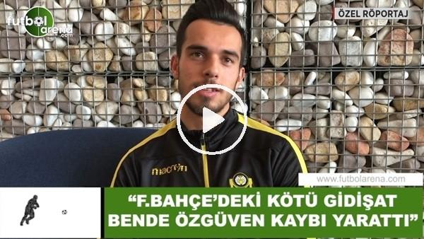 """Barış Alıcı: """"Fenerbahçe'deki kötü gidişat bende özgüven kaybı yarattı"""""""