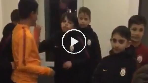 Burnley ve Galatasaraylı miniklerden dans kapışması
