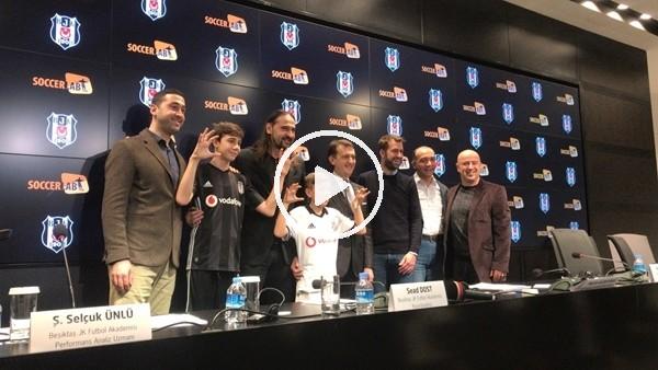 'Beşiktaş, SoccerLAB ile altyapı çalışmaları için işbirliği yaptı