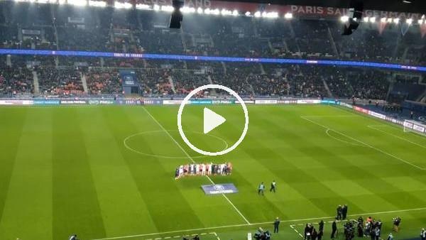 'PSG taraftarından Emiliano Sala için tezahürat