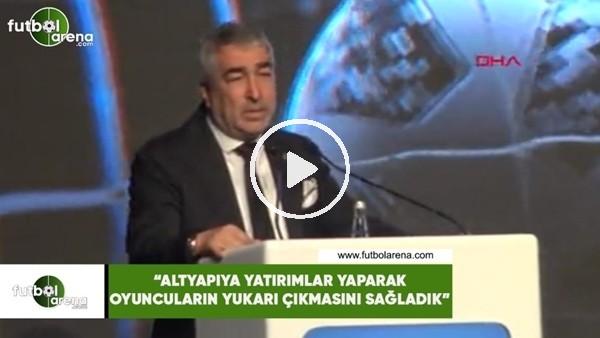 """'Samet Aybaba: """"Altyapıya yatırımlar yaparak oyuncuların yukarı çıkmasını sağladık'"""""""