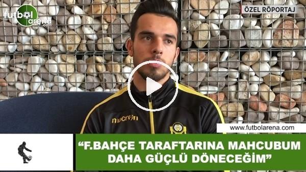 """'Barış Alıcı: """"Fenerbahçe taraftarına mahcubum daha güçlü döneceğim"""""""