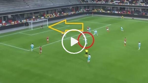 'Muhayer Oktay'dan milli maçta muhteşem gol