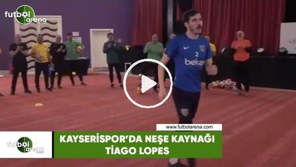 'Kayserispor'da neşe kaynağı Tiago Lopes