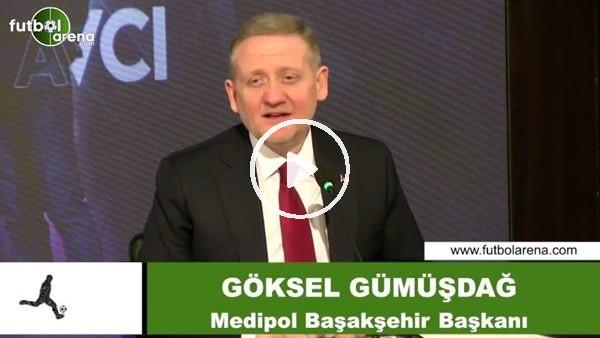 """'Göksel Gümüşdağ, siyasi destek iddialarını reddetti ve """"herkes bizi örnek almalı"""" dedi"""