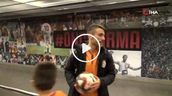 'Hat-trick yapan Yunus Akgün maçın topunu aldı