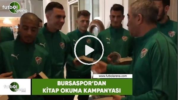 'Bursaspor'dan kitap okuma kampanyası