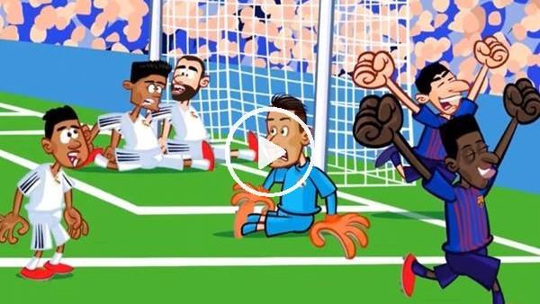 'Real Madrid - Barcelona maçı animasyon film oldu