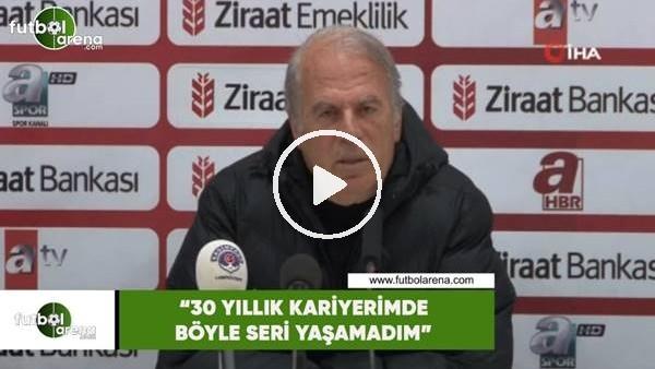 """Mustafa Denizli: """"30 yıllık kariyerimde böyle bir seri yaşamadım"""""""