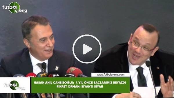 """'Beşiktaş - Kabataş Vakfı Okulları lansmanında güldüren anlar! """"4 yıl önce saçlarımız beyazdı"""""""