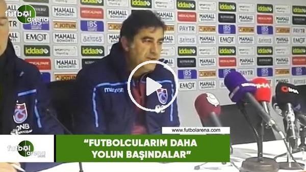 """'Ünal Karaman: """"Futbolcularım daha yolun başındalar"""""""