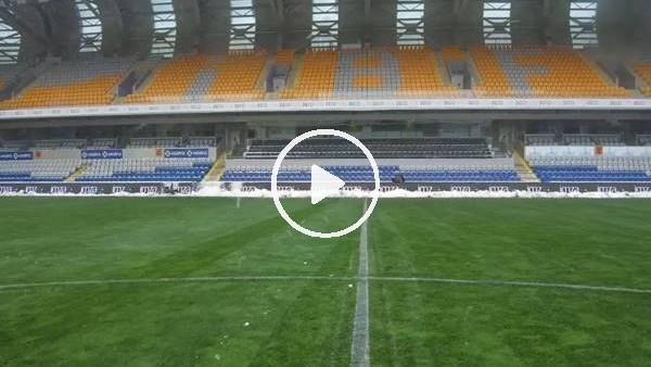 Başakşehir Fatih Terim Stadı maça hazır