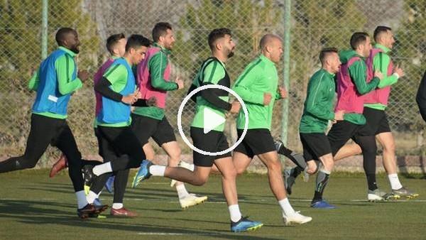 'Konyaspor, Kayserispor maçı hazırlıkları başladı