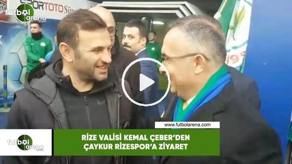 'Rize Valisi Kemal Çeber'den Çaykur Rizepsor'a ziyaret