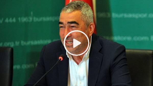 'Samet Aybaba'dan ertelenen maçla ilgili esprili açıklama