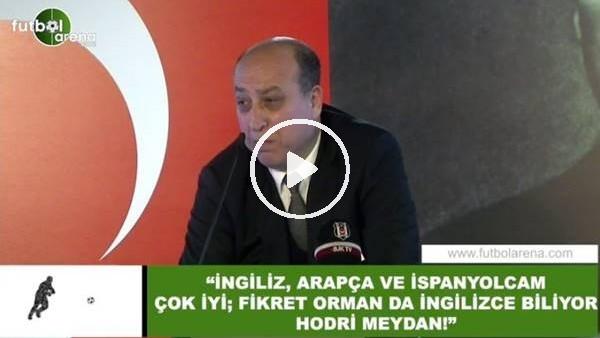 """'Aydoğan Cevahir: """"İngilizce, Arapça ve İspanyolcam çok iyi; hodri meydan!"""""""