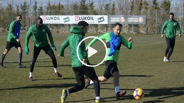 'Konyaspor'da Bursaspor maçı hazırlıkları
