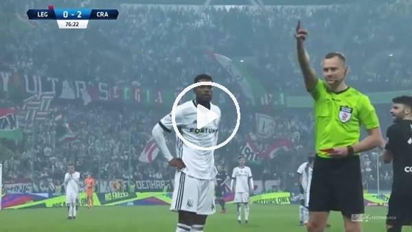 'Hakem Legia'lı futbolcu Remy ile dalga geçti