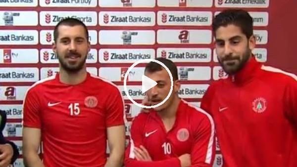 Ümraniyesporlu futbolcuların maç sonu açıklamaları