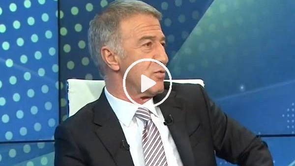 'Ahmet Ağaoğlu canlı yayında sinirlendi