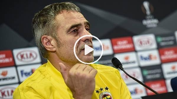'Ersun Yanal, Zenit maçı öncesi açıklamalar yaptı