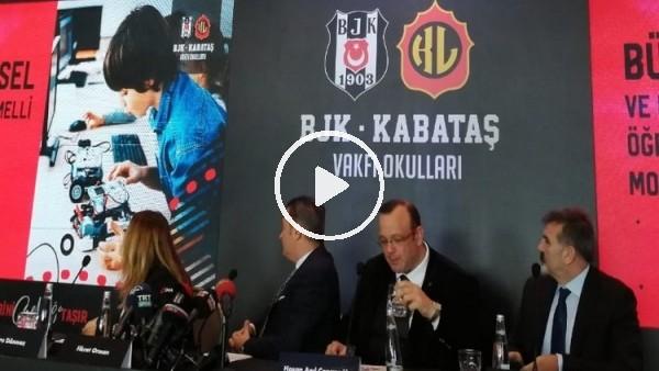 'Beşiktaş - Kabataş Vakfı Okulları lansmanı