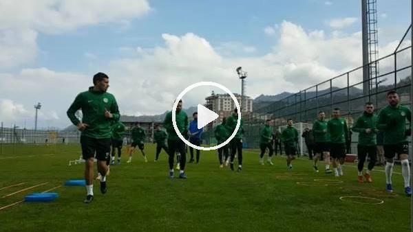 'Çaykur Rizespor'da Yeni Malatyaspor maçı hazırlıkları