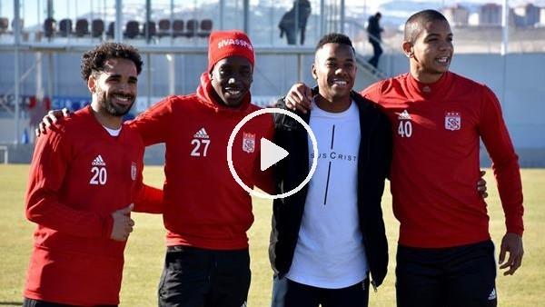 'Robinho'dan Sivasspor'a ziyaret