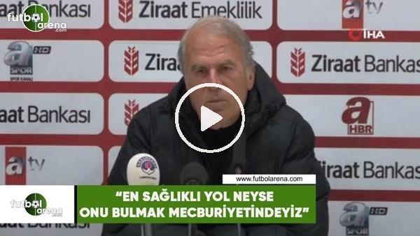 """'Mustafa Denizli: """"En sağlıklı yol neyse onu bulmak mecburiyetindeyiz"""""""