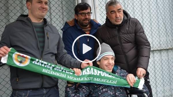 """'Engelli bir Bursaspor taraftarından futbolculara """"Lütfen bu maçı alın"""""""
