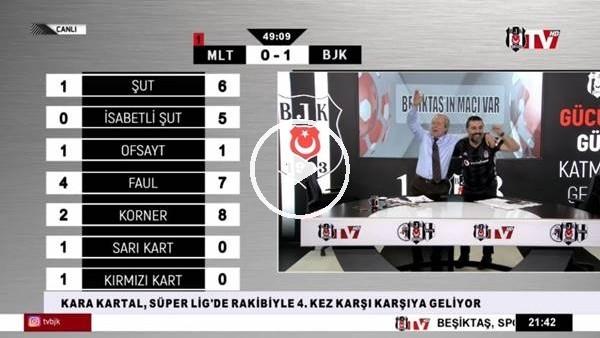 'Atiba Hutchinson'ın golünde BJK TV spikerleri