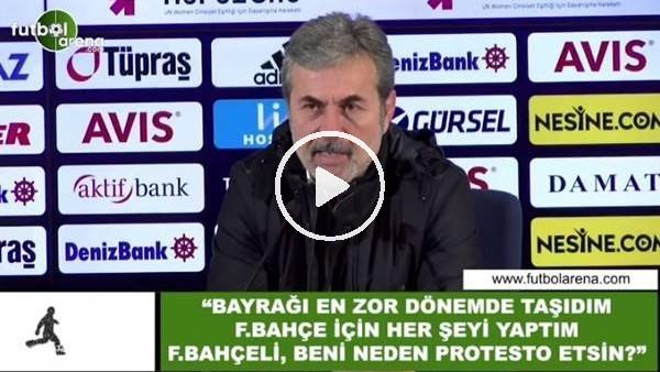 """'Aykut Kocaman: """"Fenerbahçe için her şeyi yaptım, neden beni protesto etsinler?"""""""