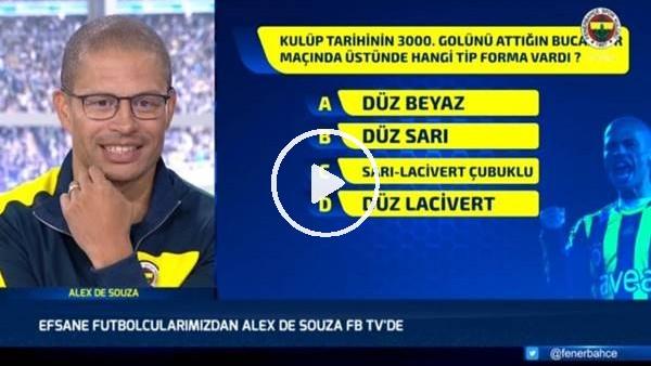 'Alex de Souza'ya 5 soruluk test
