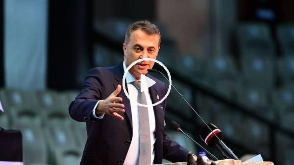 """'Fikret Orman'dan derbi açıklaması! """"Beşiktaş'a yıllarca negatif ayrımcılık yapıldı..."""""""