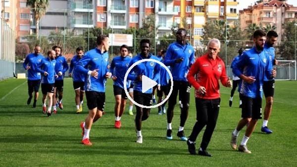 Aytemiz Alanyaspor'da Akhisarspor maçı hazırlıkları