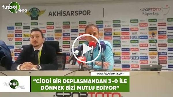 """'Abdullah Avcı: """"Ciddi bir deplasmanman 3-0 ile dönmek bizi mutlu ediyor"""""""