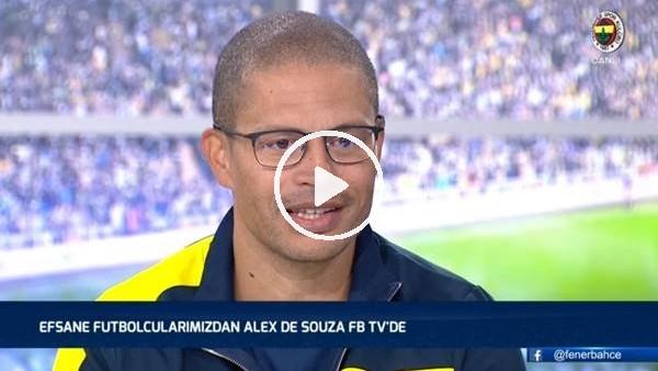 'Alex de Souza canlı yayında duydulandı