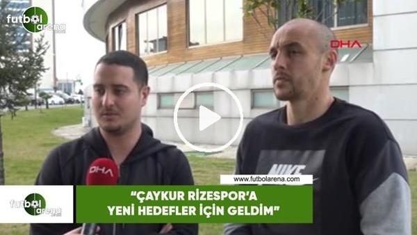 """'Aatıf Chahechouhe: """"Çaykur Rizespor'a yeni hedefler için geldim"""""""