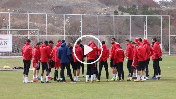 'Sivasspor'da Antalyaspor maçı hazırlıkları