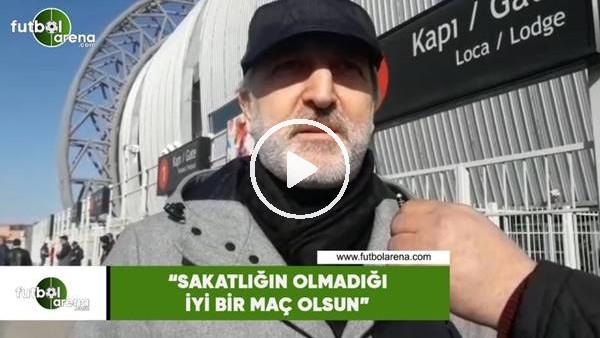 """'Talat Papatya: """"Sakatlığın olmadığı iyi bir maç olsun"""""""