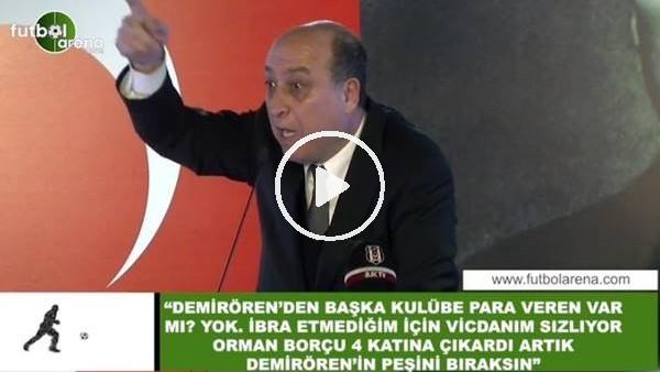 """'Aydoğan Cevahir, Beşiktaş Divan Kurulu'dan flaş sözler! """"Vicdanım sızlıyor...."""""""