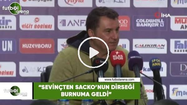 """'Mustafa Kaplan: """"Sevinçten Sakho'nun dirseği burnuma geldi"""""""