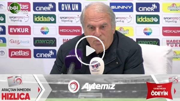 """'Mustafa Denizli: """"Yediğimiz gollerden sonra kırılganlık yaşıyoruz"""""""