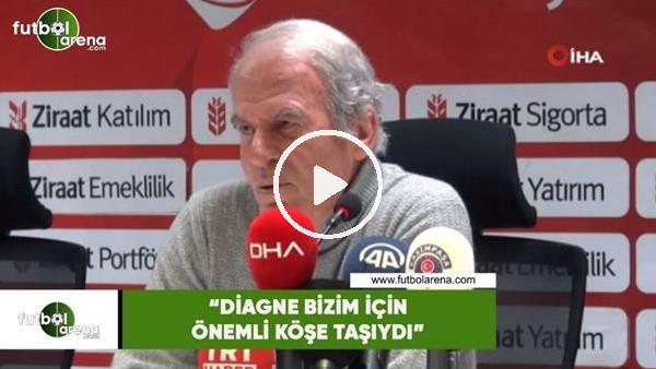 """'Mustafa Denizli: """"Diagne bizim için önemli köşe taşıydı"""""""