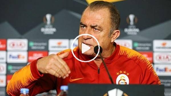 'Fatih Terim, Benfica maçı öncesi basın toplansında konuştu