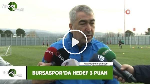 'Bursaspor'da hedef 3 puan