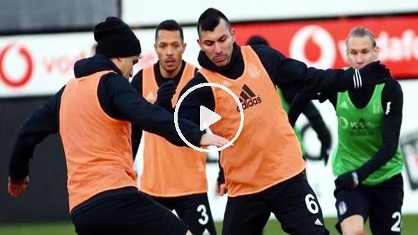 'Beşiktaş derbi hazırlıklarını sürdürdü