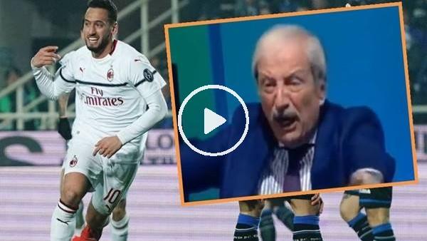 """'İtalyan spiker çıldırdı! """"Hakan Çalhanoğlu'ndan özür dileyeceksiniz..."""""""
