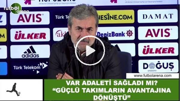"""'Aykut Kocaman'dan VAR yorumu! """"Güçlü takımların avantajına dönüştü"""""""